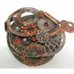 Altered Steampunk Tin Box