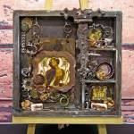Romantic Steampunk shadow Box