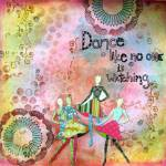 Dance – Art journal page