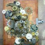 Altered Steampunk Notebook
