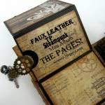 Faux Leather TP mini Album – THE PAGES!