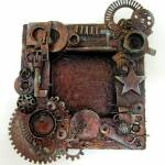 Altered Steampunk Wood Frame