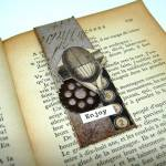 5 Minutes Craft – Steampunk Magnetic Bookmark