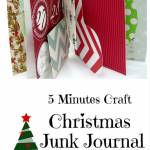 5 Minutes Craft – Christmas Junk Journal/ Mini Album