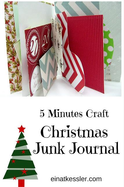 Minutes Craft – Christmas Junk Journal/ Mini Album