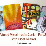 Altered Playing Cards – part 2