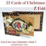 12 Cards of Christmas – Z Fold