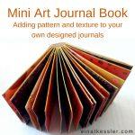 Mini Art Journal Book