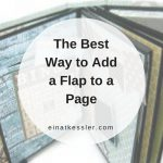 The Best Way to Add a Flap to a Page