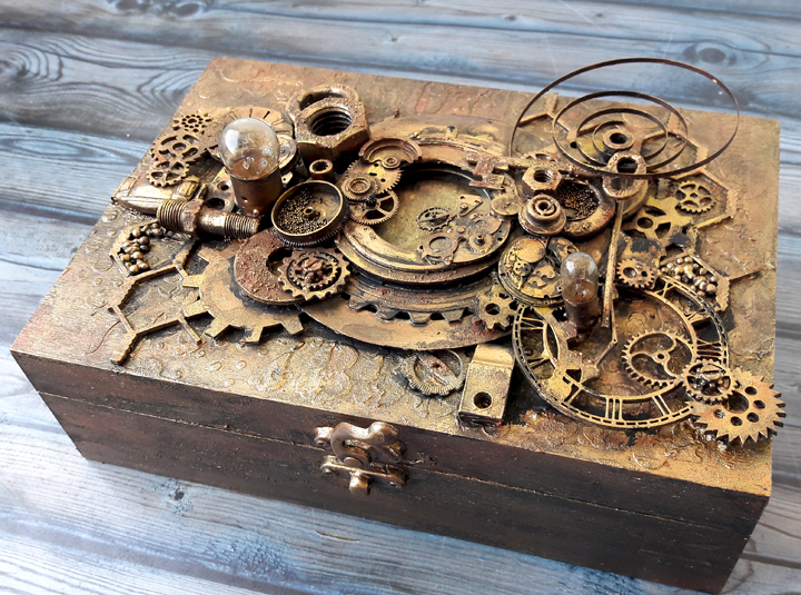 steampunk altered box einat kessler photo 4 einat kessler
