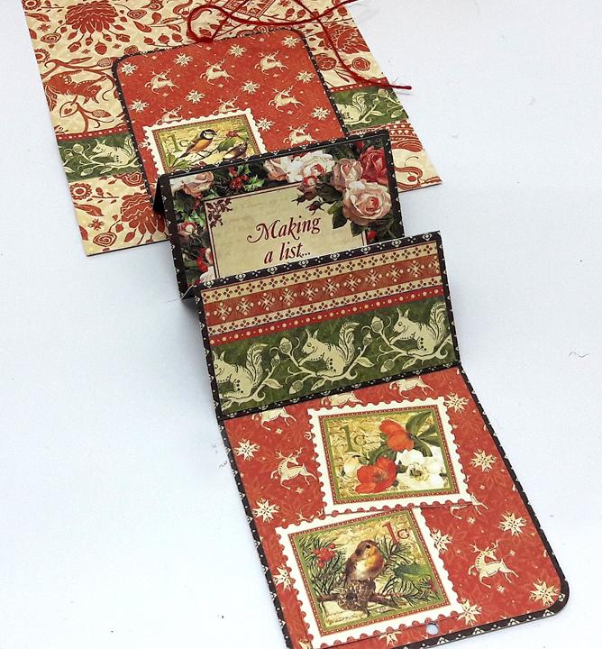 12 cards of christmas accordion fold photo 2 einat kessler