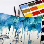 NEW!! Free online class: Watercolor Art Journaling