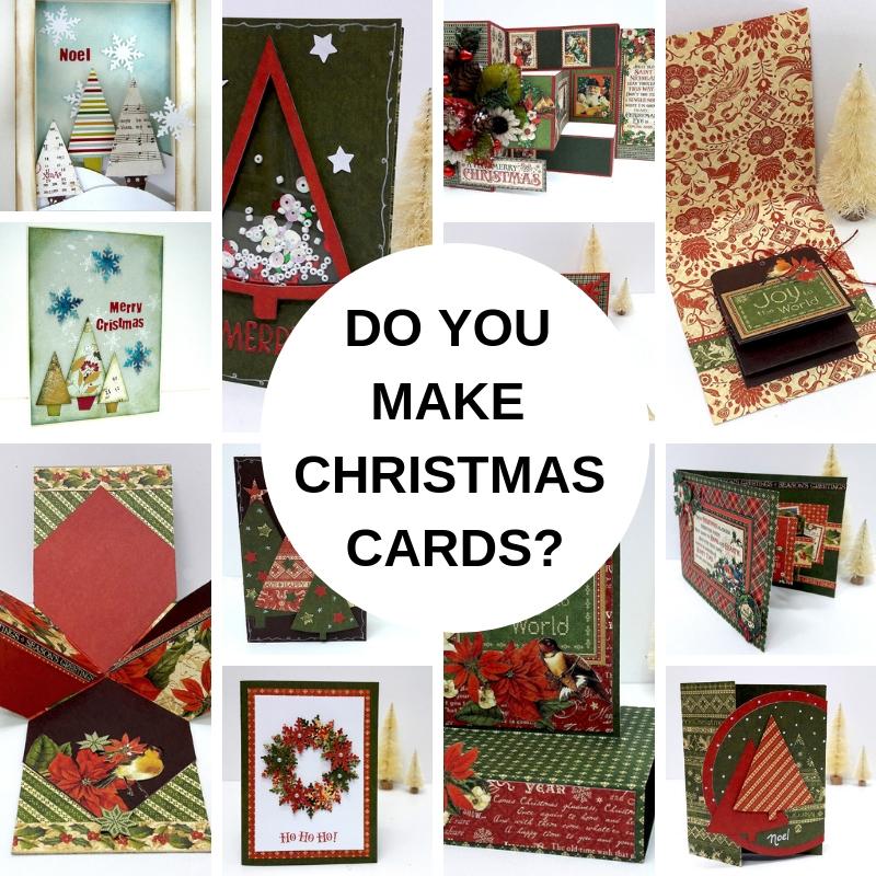 DO YOU MAKE CARDS FOR CHRISTMAS? - Einat Kessler