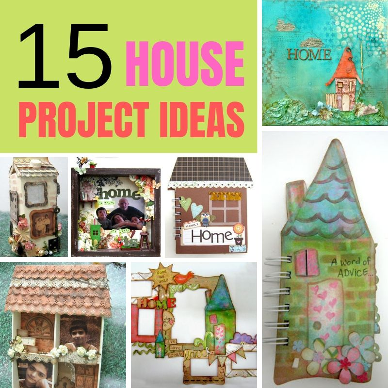 15 Creative House Shape Project Ideas You Must Try