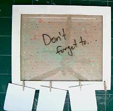 5 minute craft eraser bulletin board