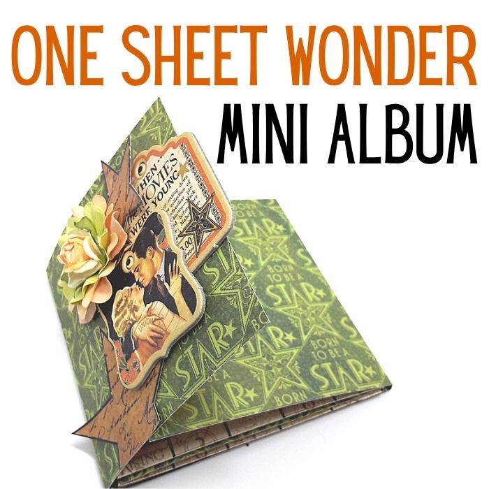 Pick /& Choose Page Design Mini Album Tutorial