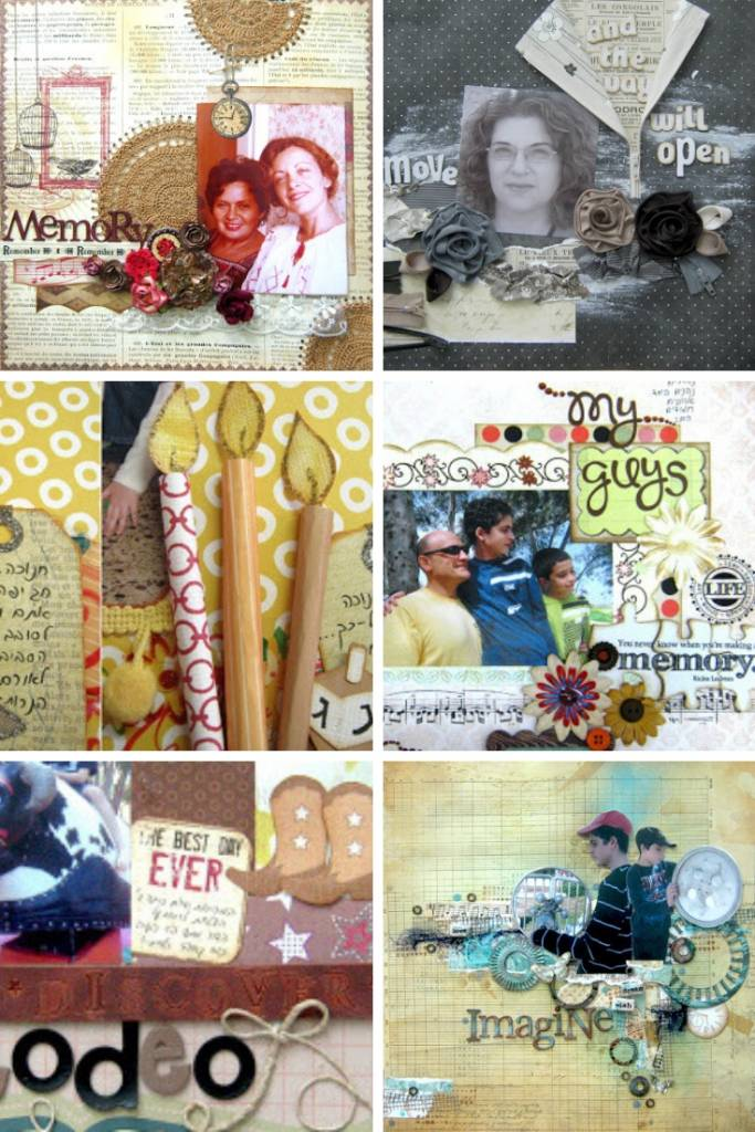 embellishments for scrapbook page ideas