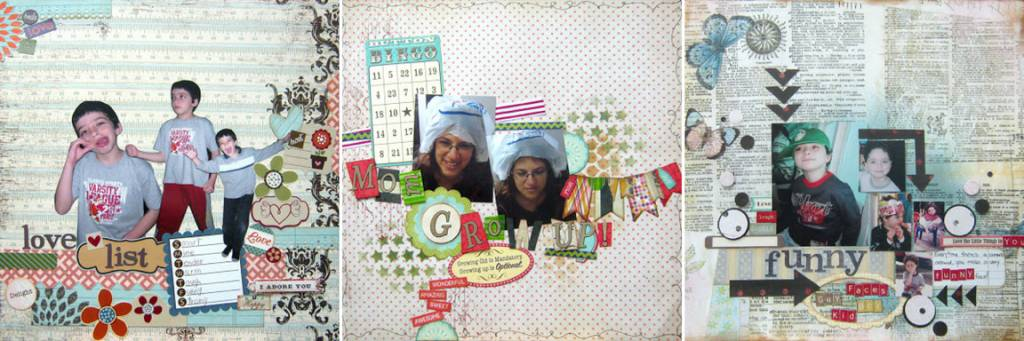 funny scrapbook pages collage