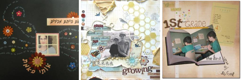 journaling on scrapbook page ideas