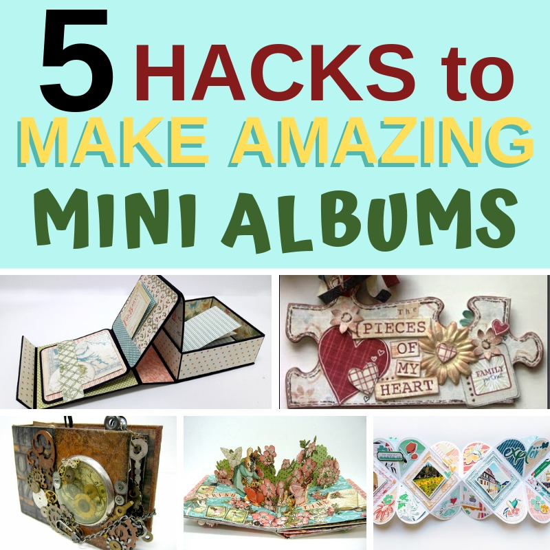 5 HACKS FOR AMAZING MINI ALBUMS YOU NEED TO KNOW